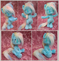 My little anthro pony - handmade plushie