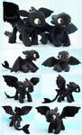 Young Toothless  - Handamde plushies