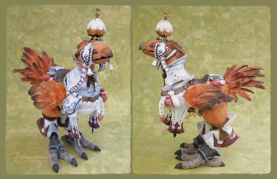Chocobo XIV - Art doll