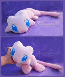 Cute Mew - Handmade plushie