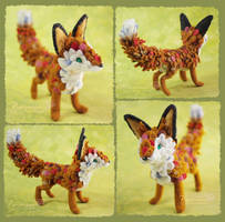 Little Fox - Felt doll by Piquipauparro
