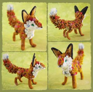 Little Fox - Felt doll