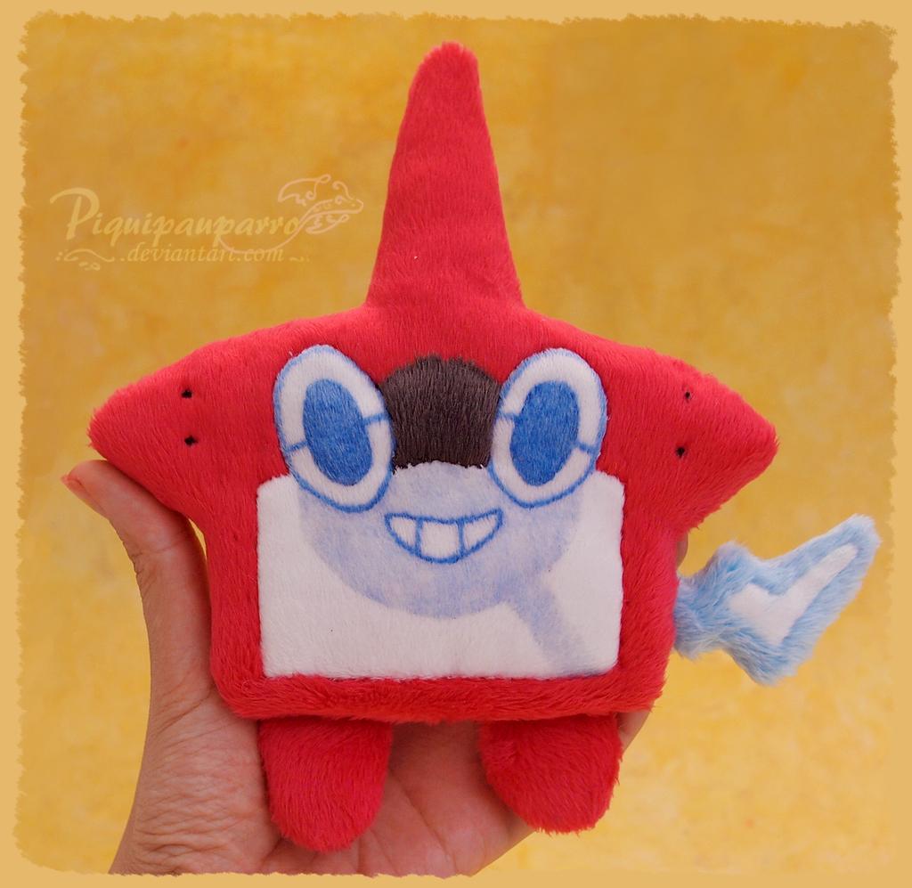 Rotomdex -handmade plushie by Piquipauparro