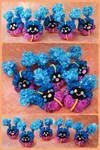 Sparkly crochet Cosmogs