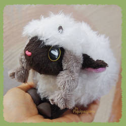 Fluffy Wooloo - handmade plushie