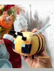 Minecraft Bee - Handmade plushie