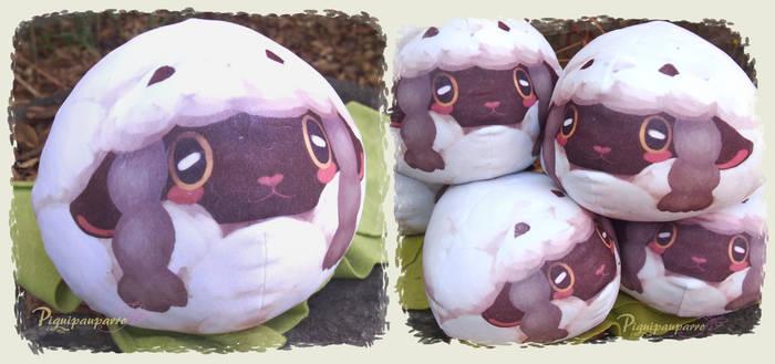 Wooloo - round mochi plush