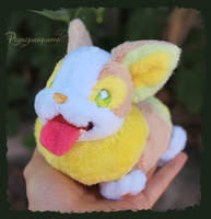 Yamper - cute doggo plushie