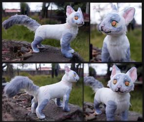 Cat OC - handmade plush