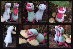 Curious ferret - pattern for sale