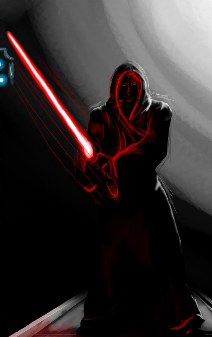 Dark Jedi by DoctorOrpheus