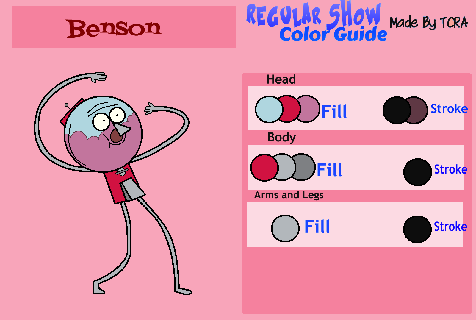 Regular Show Color Guide Benson By Thecraprightart On Deviantart