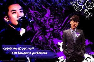 Seungri Purple Wallpaper (sizes available) by Love-and-Blades