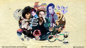 G-Dragon wallpaper [sizes available] by Love-and-Blades