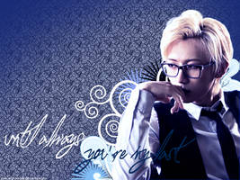Hyunseung wallpaper [1024x768] by Love-and-Blades