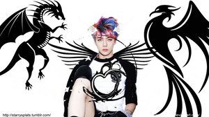 Sehun Transparent Wallpaper [sizes available] by Love-and-Blades