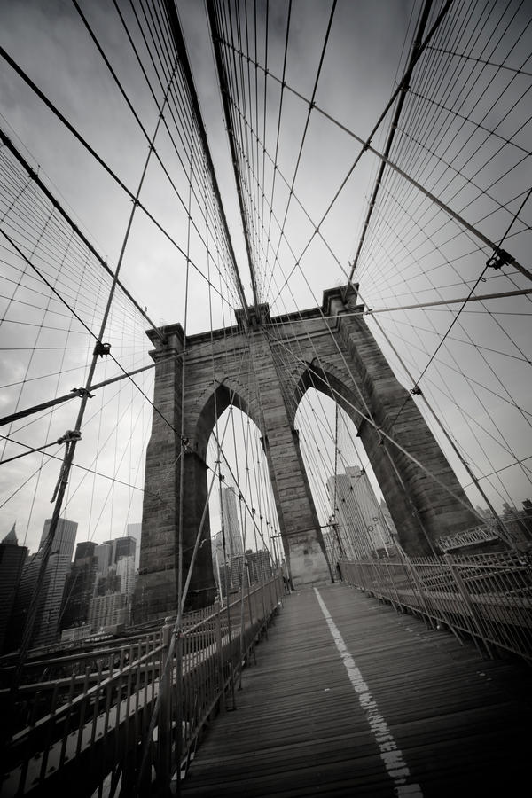 Brooklyn bridge by pol-b