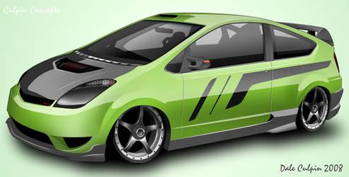 Toyota Prius by dazza-mate