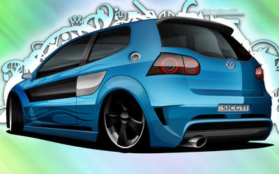 Volkswagen Golf GTi by dazza-mate