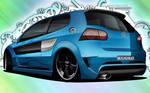 Volkswagen Golf GTi by dazza-mate