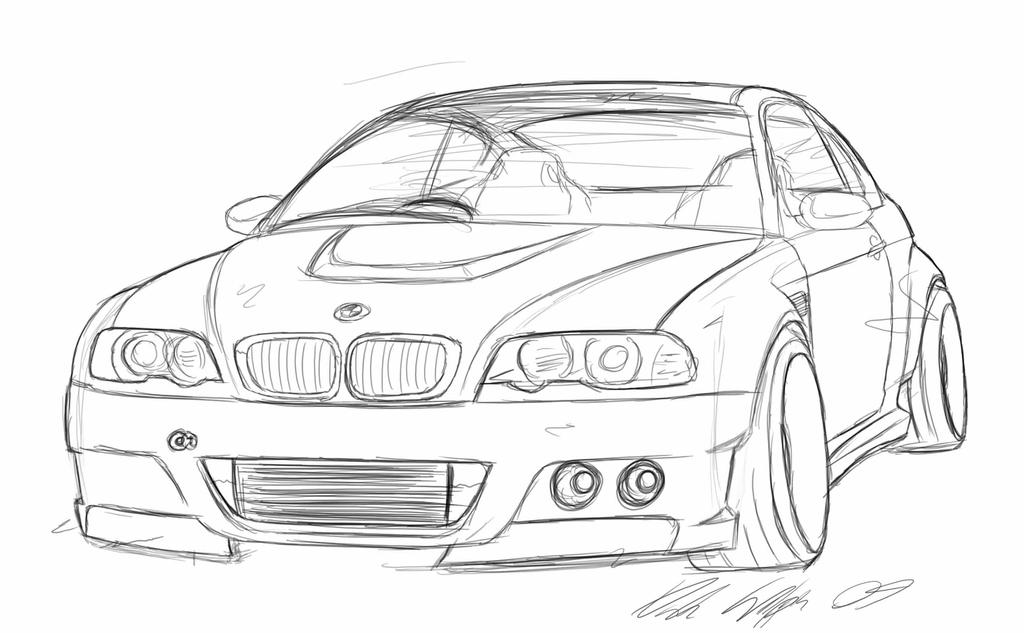 Bmw M3 E46 Drawings