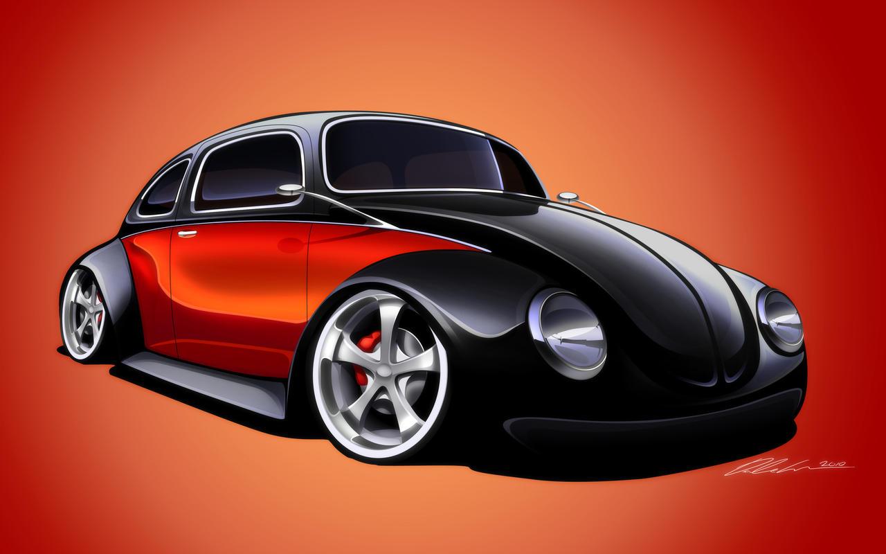 volkswagen beetle custom by dazza mate on deviantart. Black Bedroom Furniture Sets. Home Design Ideas