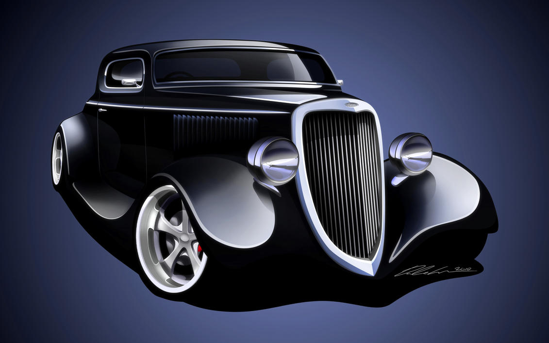 1934 Ford Coupe by ~dazza-mate