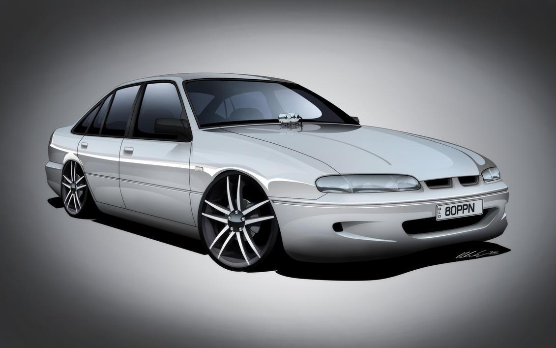 Holden Vs Commodore By Dazza Mate On Deviantart