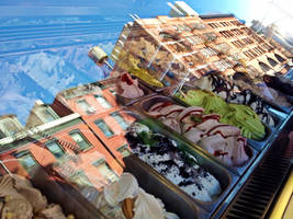 Gelato di Little Italy, NYC by emshore