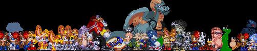 Character_Lineup by RaccoonShinobi