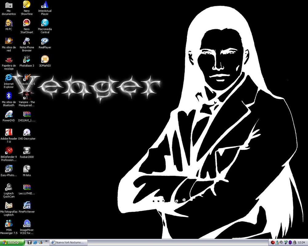 Leila's Venger Wallpaper by Vengerin
