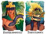 Aztec Portraits