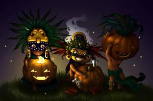Aztec Halloween