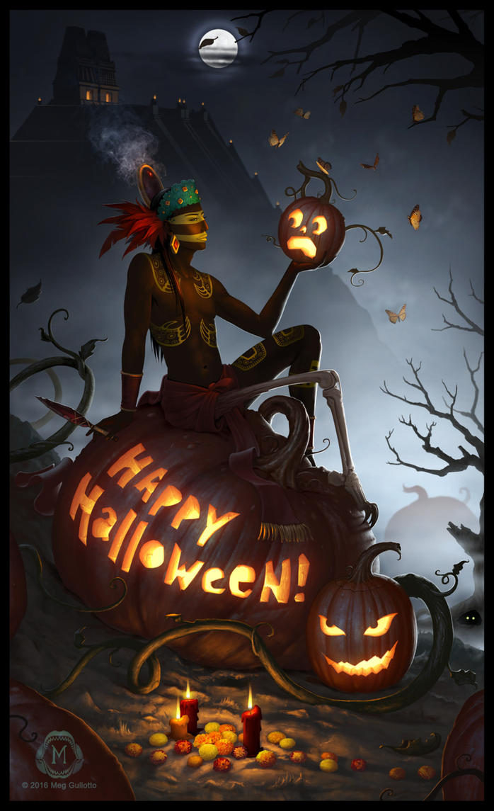 tez says happy halloween by theartfulmegalodon - Pictures That Say Happy Halloween