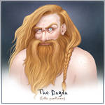 Godlings Faces - The Dagda