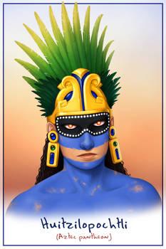Godlings Faces - Huitzilopochtli
