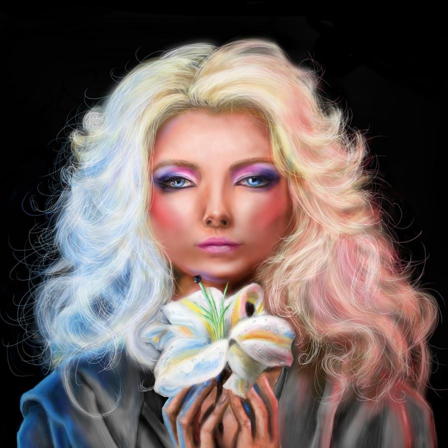 Blonde Portrait  by persikon