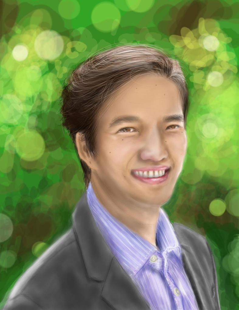 Self Portrait  by persikon