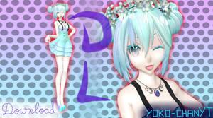 xX MMD Xx Cotton Miku DL! (reupload) by Yoko-ChanYT