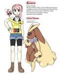 Pokemon OC: Kiara