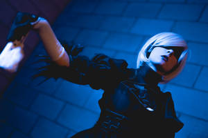 NieR Automata 2B Cosplay Commissioned Shoot