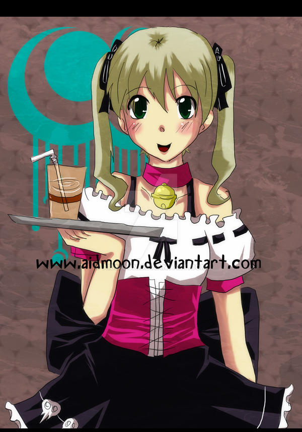 . Maka Waitress . SE by aidmoon