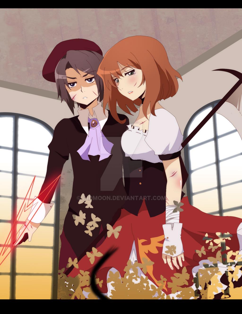 Umineko +Fight+ by aidmoon