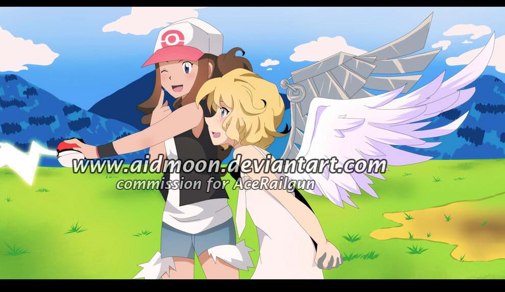 Commission 57 AceRailgun by aidmoon