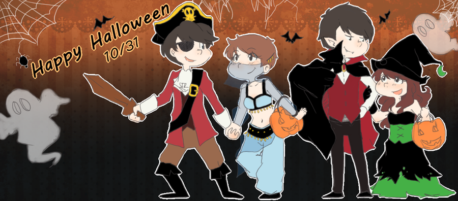 Le Halloween picture by aidmoon