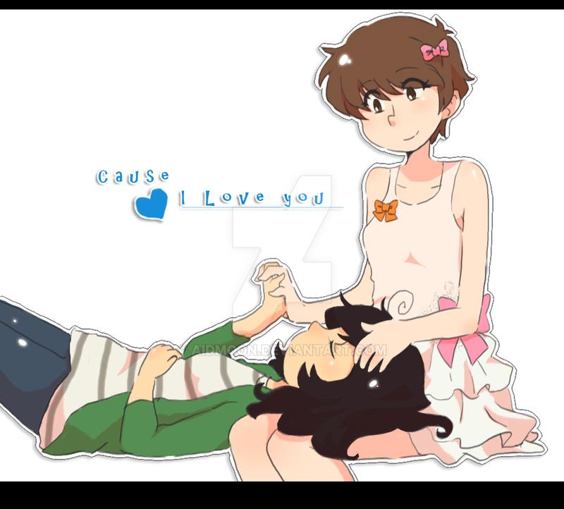 [Simple like love] by aidmoon