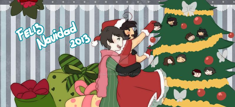 Merry Christmassuuuuu~ [GP Love] by aidmoon