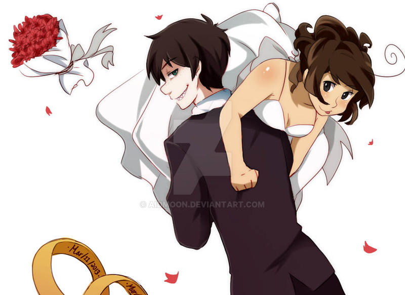 Wedding more like honeymoon time [GP love] by aidmoon