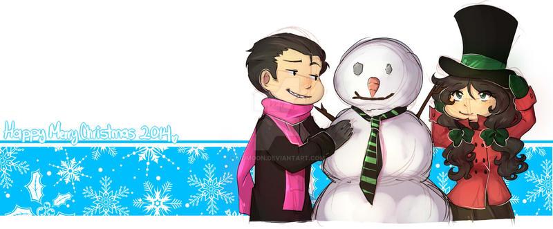 Snow man dad [Green lovu] by aidmoon