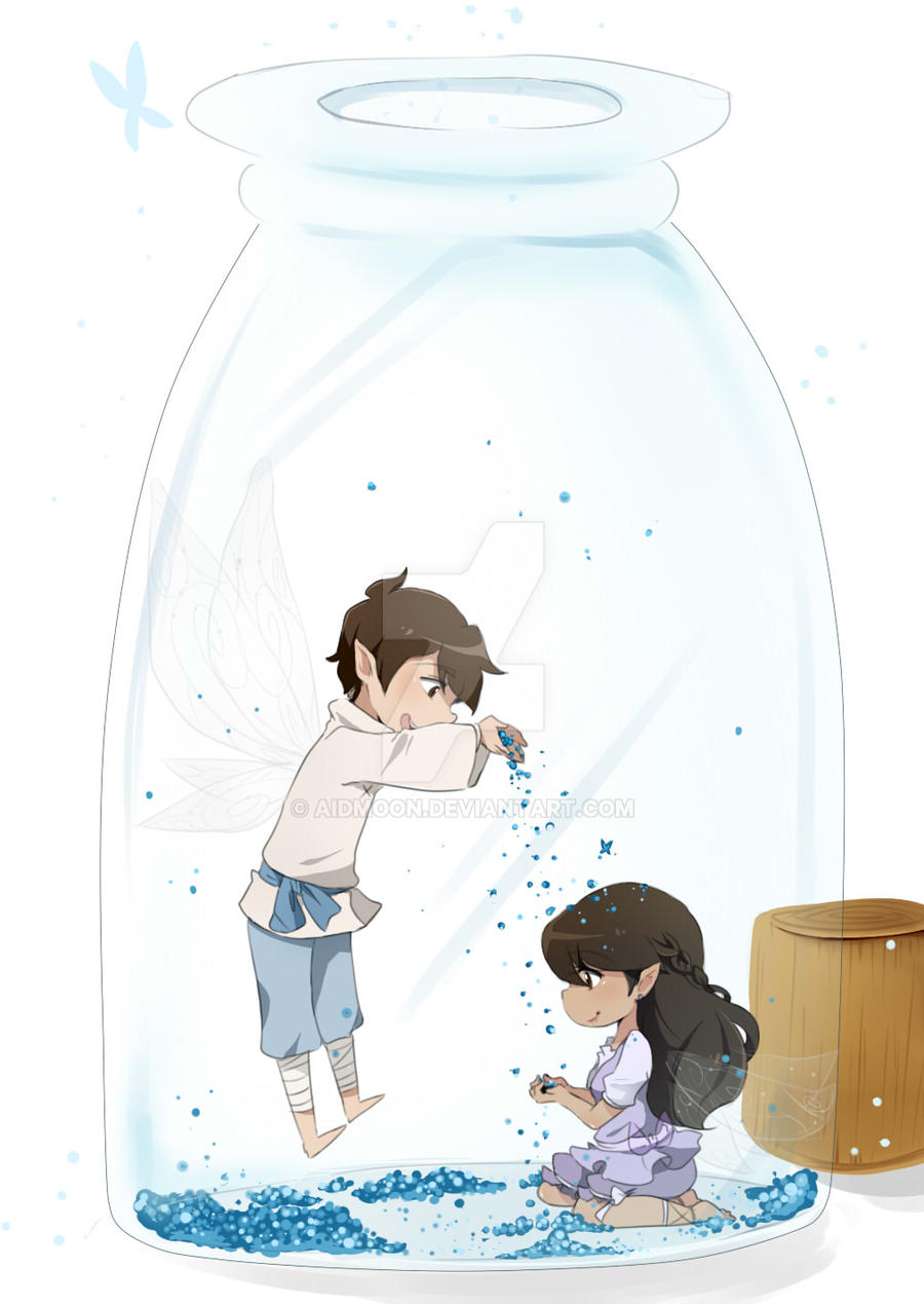:G: Fairy Dust by aidmoon